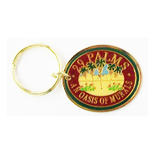 Twentynine Palms Mural Key chain