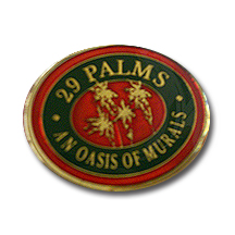 29 Palms Mural Lapel Pin