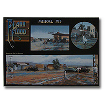 Mural Postcard #13 Flash floods of the 40's